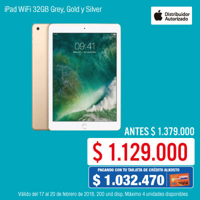 BIG KT-1-tablets-iPad WiFi 32GB Grey, Gold y Silver-cat-febrero17/20