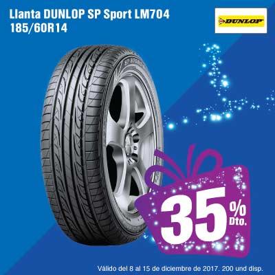 BIGTOP-AK-11-Llantas-Llanta-DUNLOP-SP-Sport-LM704-185-60R14-Diciembre-8-15