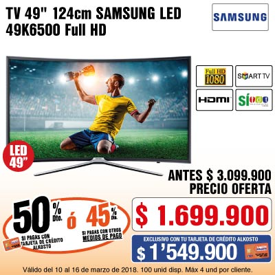 BIG 1 AK-tv-Samsung49K6500-prod-Marzo 10-13