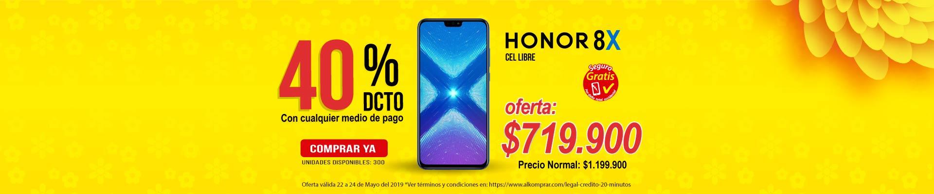 BP ALKP Cel 4G Honor 8X