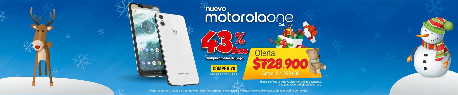 BP ALKP  Cel 4G Motorola One DS 'Ng