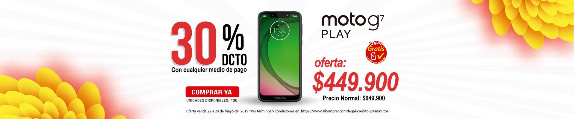 BP ALKP Cel 4G Moto G7 Play