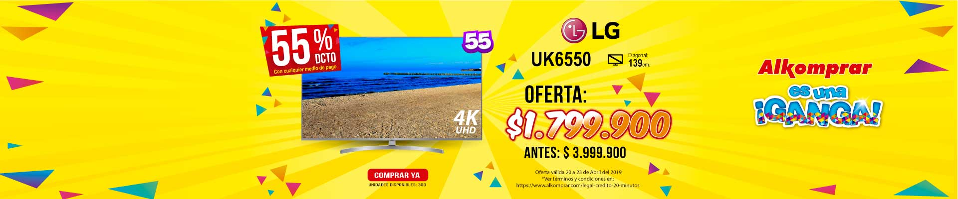 BP ALKP LG UK6550