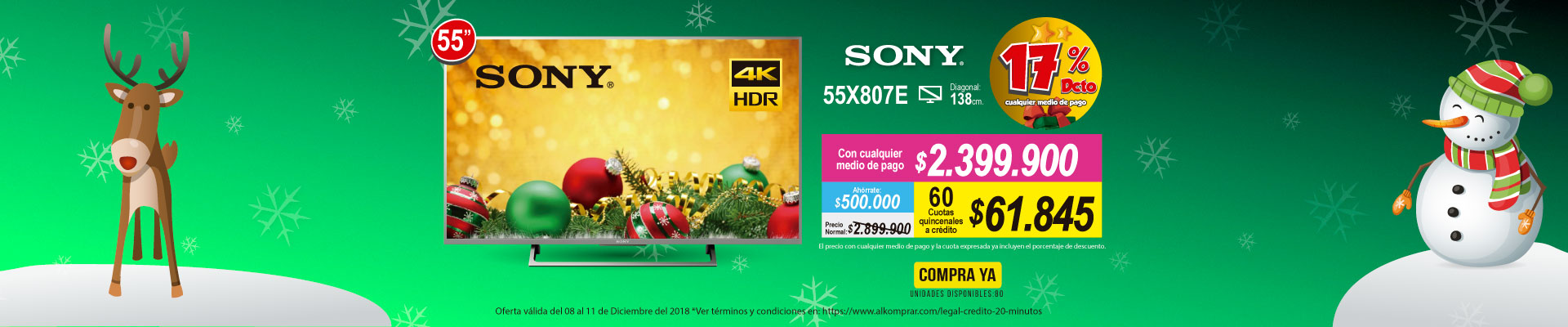 BP ALKP  SONY TV