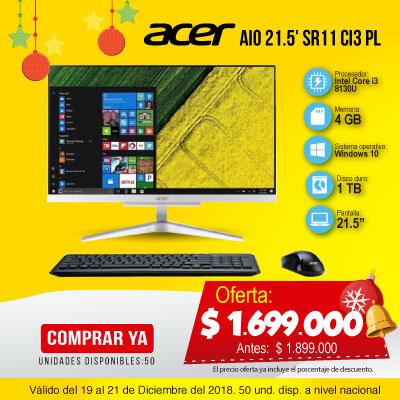 BT ALKP AIO 21.5' Acer SR11 Ci3 Pl