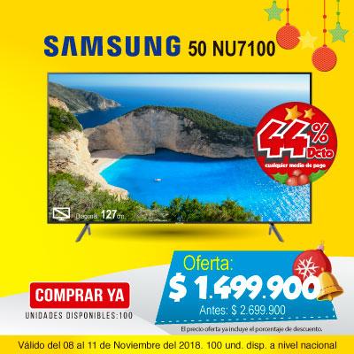 BT ALKP  Samsung 50NU7100 4K-UHD Internet