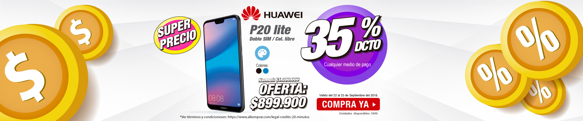 Banner ppal - Huawei P20 lite