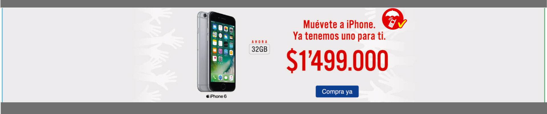 iPhone 6 32GB 4G - celulares