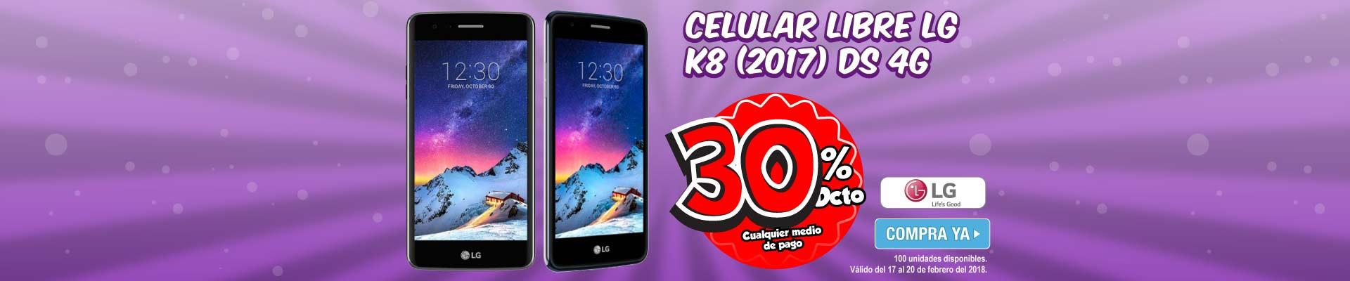 PPAL ALKP-3-celulares-Celular Libre LG K8 (2017) DS 4G-prod-Febrero17-20