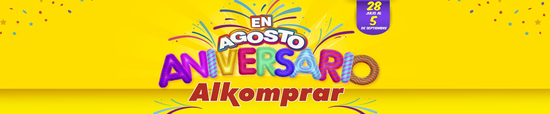Aniversario 2017 alkomprar - banner principal