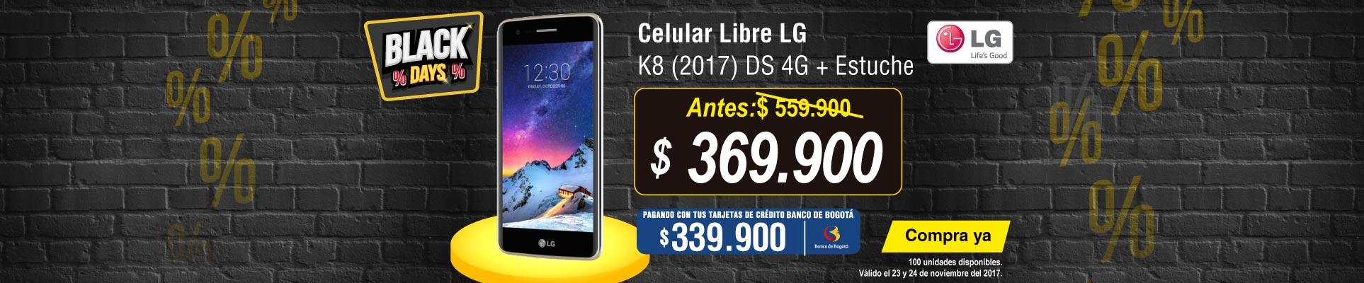 PPAL ALKP-5-celulares-Celular Libre LG K8 (2017) DS 4G-prod-noviembre23-24-blackfriday