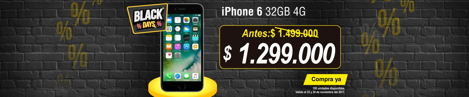 PPAL ALKP-1-celulares-iPhone 6 32GB 4G Gris-prod-noviembre23-24-blackfriday