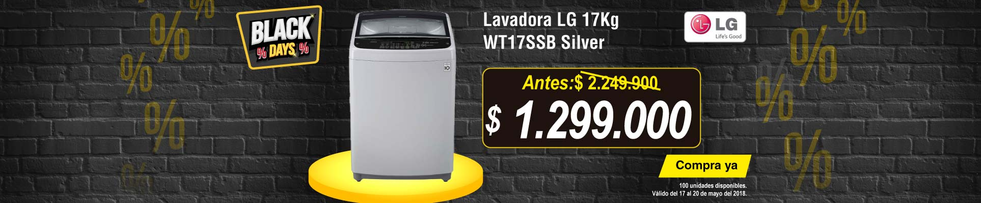 PPAL ALKP-6-LB-Lavadora LG 17Kg WT17SSB Silver-prod-Mayo17-20