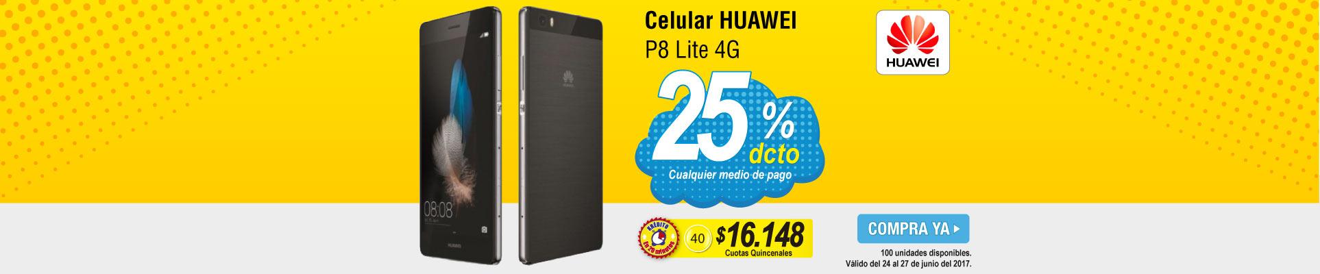 Celular HUAWEI P8 Lite - banner principal