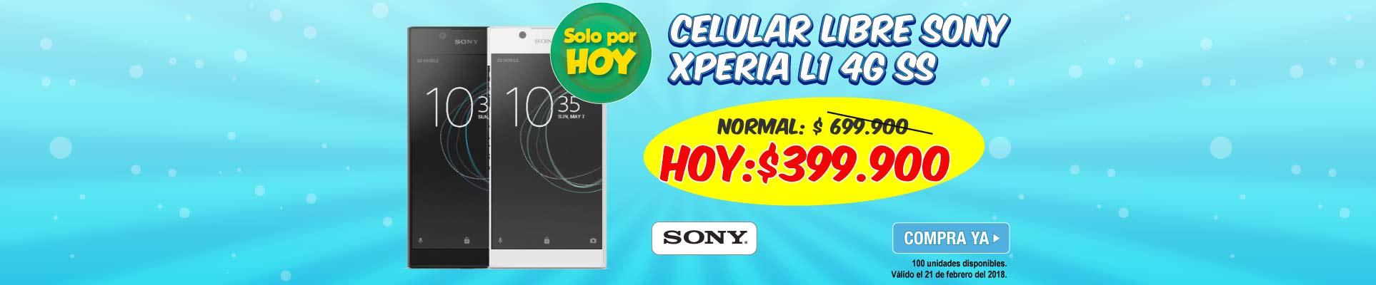 PPAL ALKP-2-celulares-Celular Libre SONY Xperia L1 4G SS -prod-Febrero21
