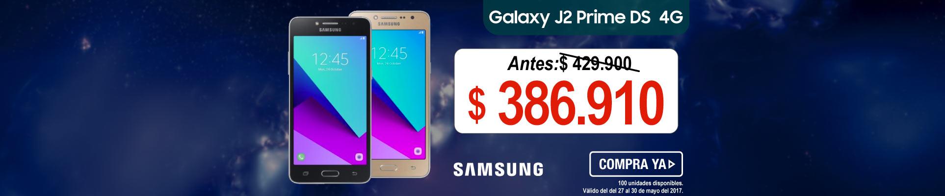 Celular Samsung J2 Prime DS 4G - banner principal