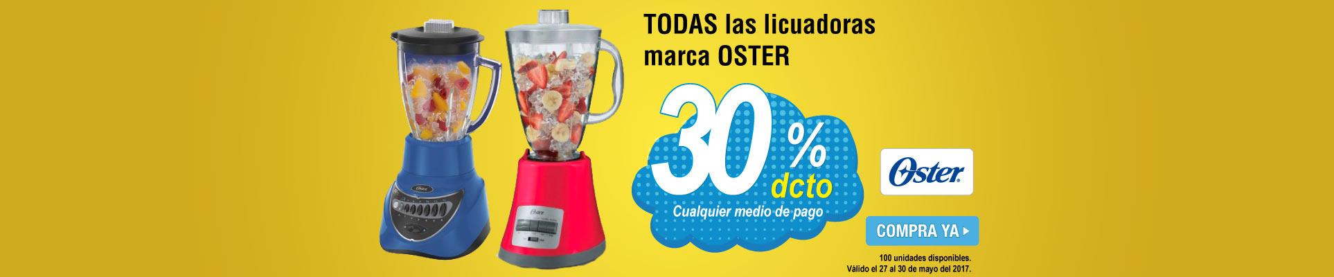 30 Dto. licuadoras oster - banner principal