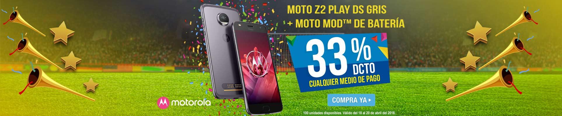PPAL ALKP-5-celulares-Celular Libre MOTOROLA Moto Z2 Play DS Gris + Moto Mod-prod-Abril18-20