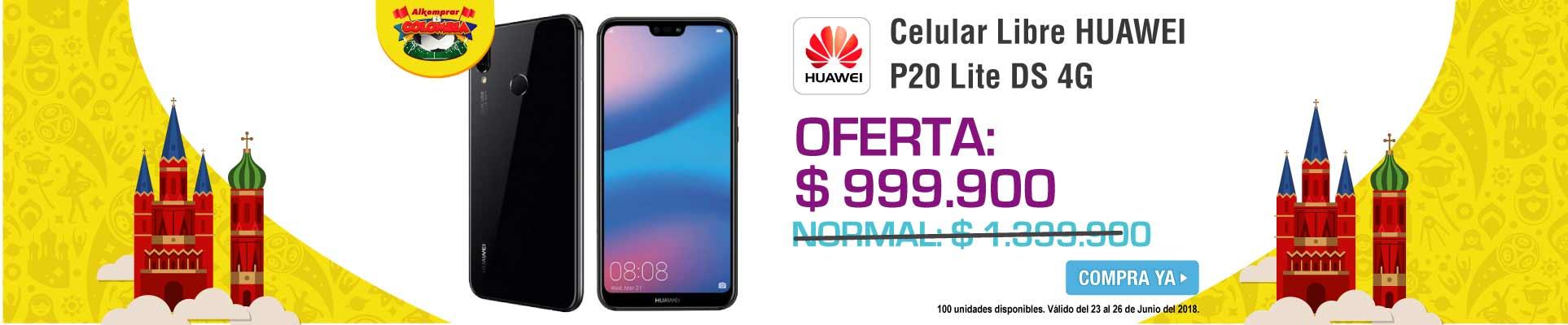 PPAL ALKP-5-celulares-Celular Libre HUAWEI P20 Lite Negro DS 4G-prod-Junio23-26