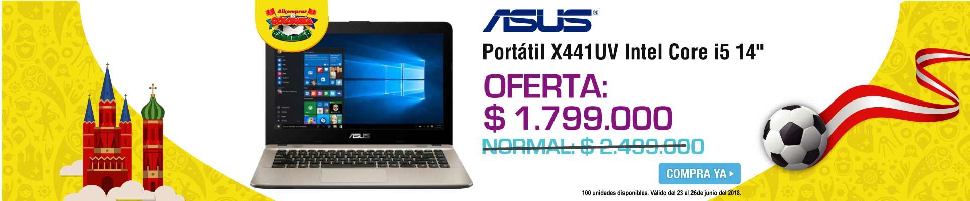 PPAL ALKP-1-computadores-Portátil ASUS - X441UV- Intel Core i5 - 14