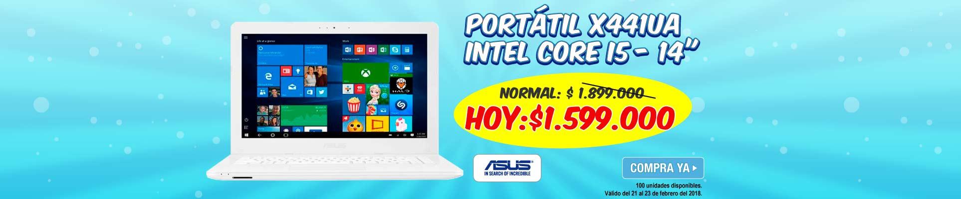 PPAL ALKP-5-computadores-Portátil ASUS - X441UA - Intel Core i5 - 14-prod-Febrero21-23