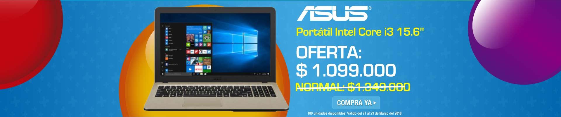 PPAL ALKP-1-computadores-Portátil ASUS - X540LA - Intel Core i3 - 15.6-prod-Marzo21-23
