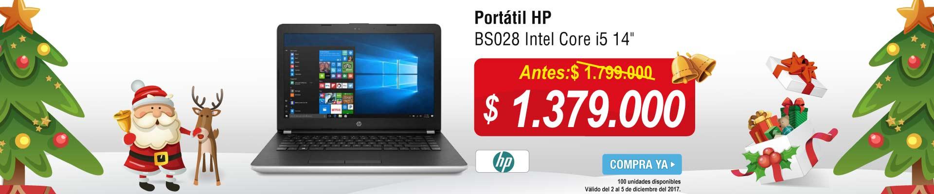 Portátil HP BS007 Celeron 14 -banner principal