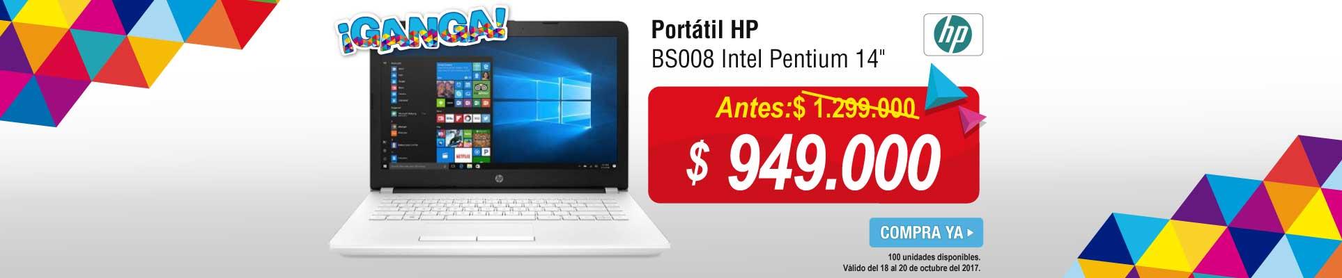 PPAL ALKP-5-computadores-Portátil HP BS008 Intel Pentium 14-prod-octubre18-20