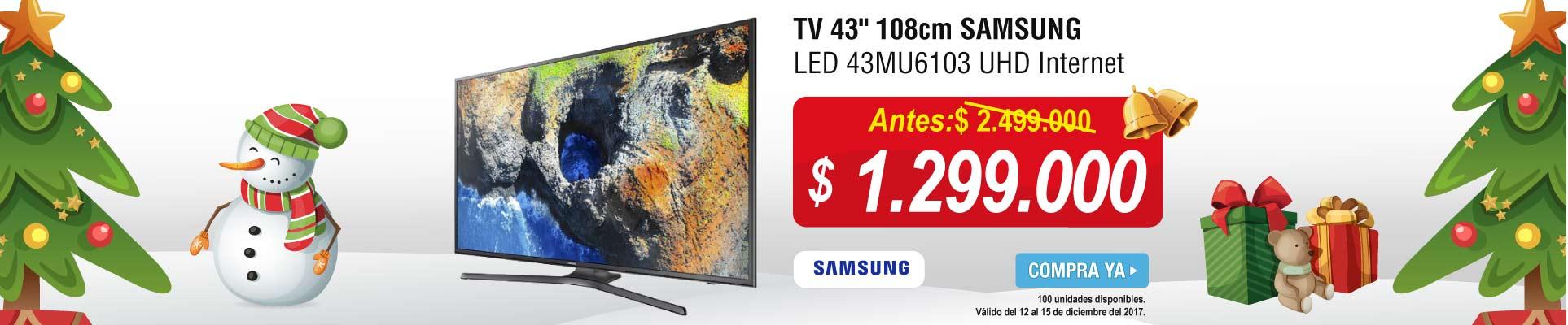 PPAL ALKP-2-tv-TV 43 108cm SAMSUNG LED 43MU6103 UHD Internet-prod-diciembre13-15