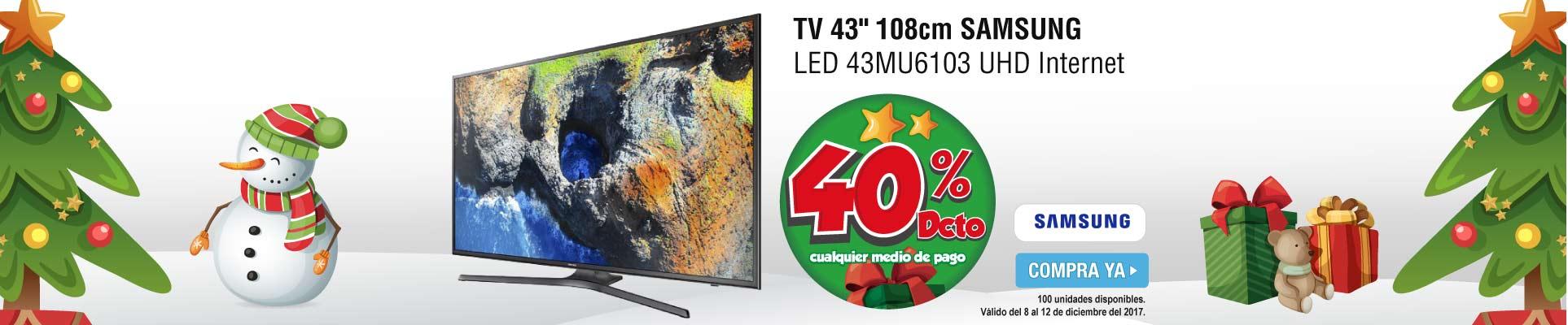 PPAL ALKP-2-tv-TV 43 108cm SAMSUNG LED 43MU6103 UHD Internet-prod-diciembre8-12