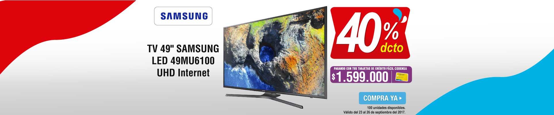 PPAL ALKP-5-tv-TV 49 123cm SAMSUNG LED 49MU6100 UHD Internet-prod-septiembre23-26