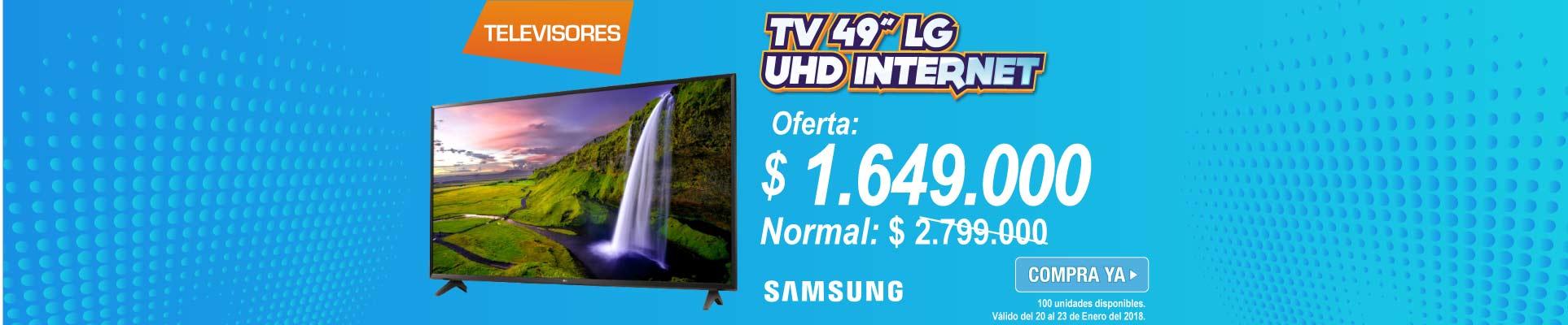 PPAL ALKP-2-TV-Tv49 123cm LG 49UJ620T UHD Internet-prod-enero20-23