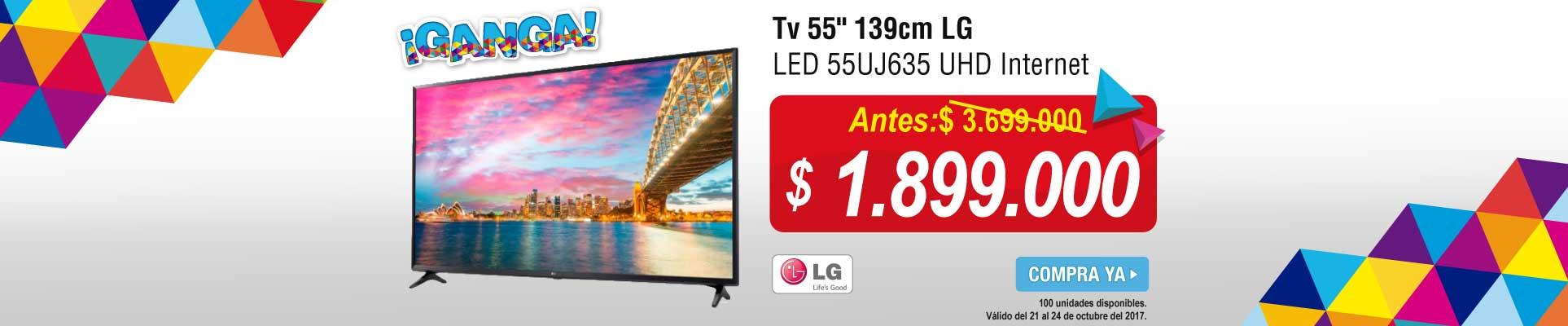 PPAL ALKP-1-tv-Tv 55 139cm LG LED 55UJ635 UHD Internet-prod-octubre21-24
