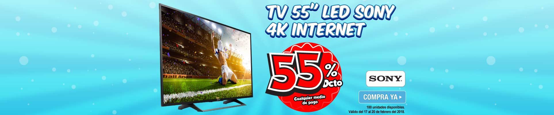 PPAL ALKP-5-TV-TV 55 138.8cm LED SONY 55X727E 4K Internet-prod-Febrero17-20