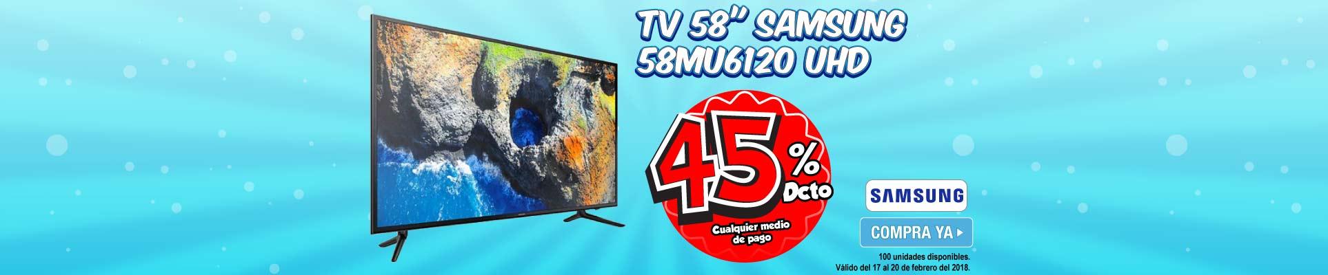 PPAL ALKP-2-TV-TV 58 148cm SAMSUNG 58MU6120 UHD-prod-Febrero17-20