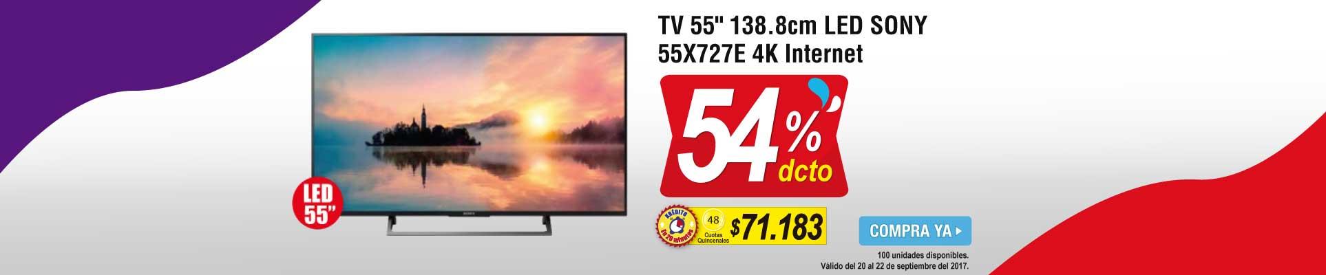 PPAL ALKP-4-tv-TV 55 138.8cm LED SONY 55X727E-prod-septiembre20-22