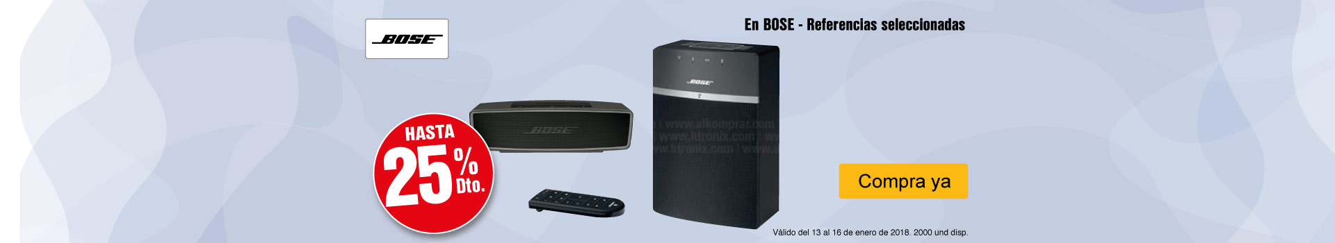 CAT-AK-1-AUDIO-HASTA-25%-EN-BOSE---REFERENCIAS-SELECCIONADAS-CAT-13-16-ENERO