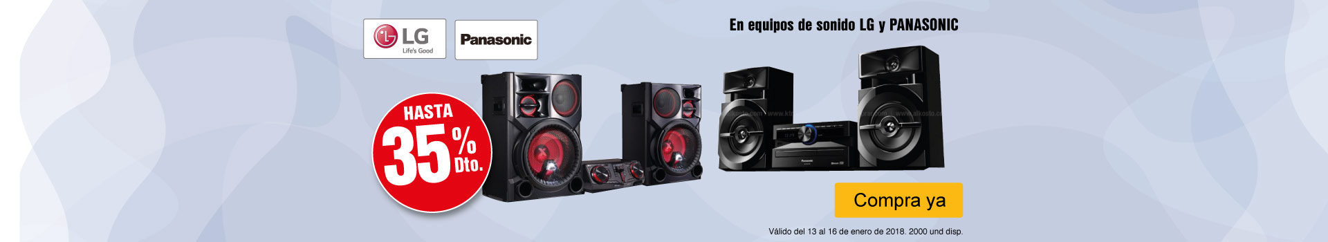 CAT-AK-2-AUDIO-HASTA-35%-DCTO-EN-EQUIPOS-DE-SONIDO-LG-Y-PANASONIC-CAT-13-16-ENERO