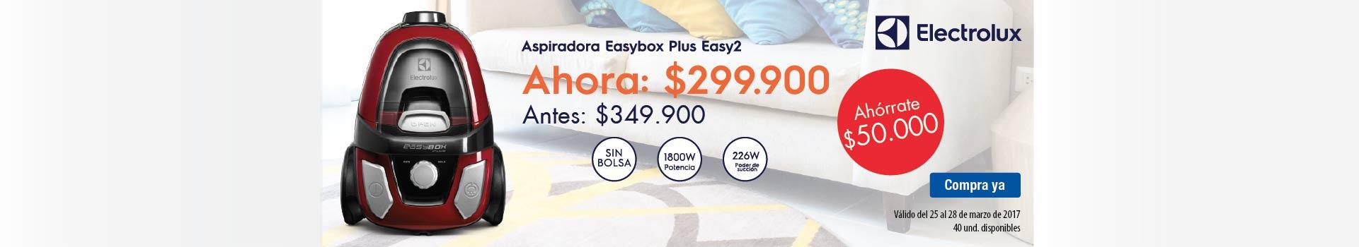 CAT ELECT - marzo 25 - Aspiradora ELECTROLUX EasyBox R 6 Opiniones  Código: 7896347147545