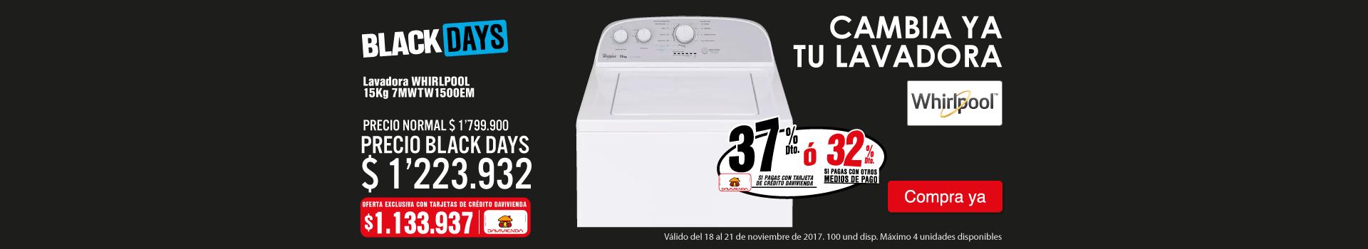 CAT ELECT-KT4-LB-lavadoraWHIRLPOOL15kg-7MWTW1500EM-prod-nov18-21