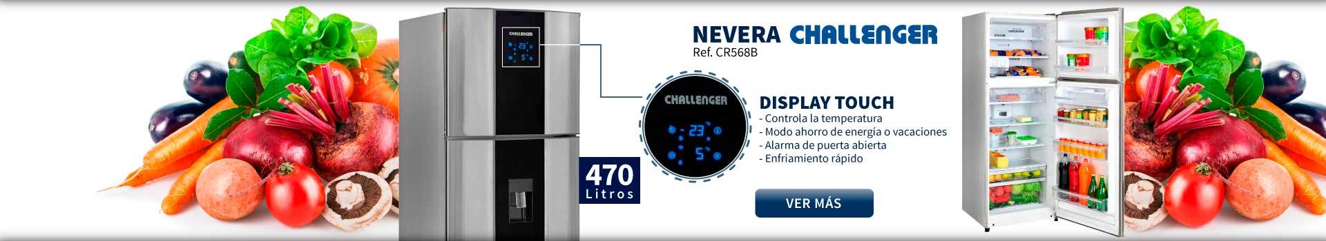 CAT NEV - mayo 23 - NEVERA CHALLENGER CR568B 470 Litros