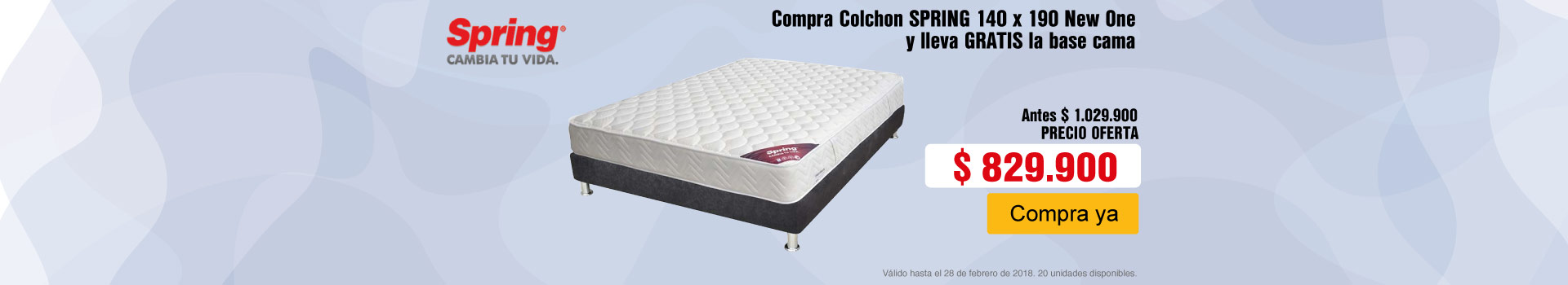 CAT AK-3-colchones-colchon-doble-new-one-base-cama-decco-spring-feb21-23