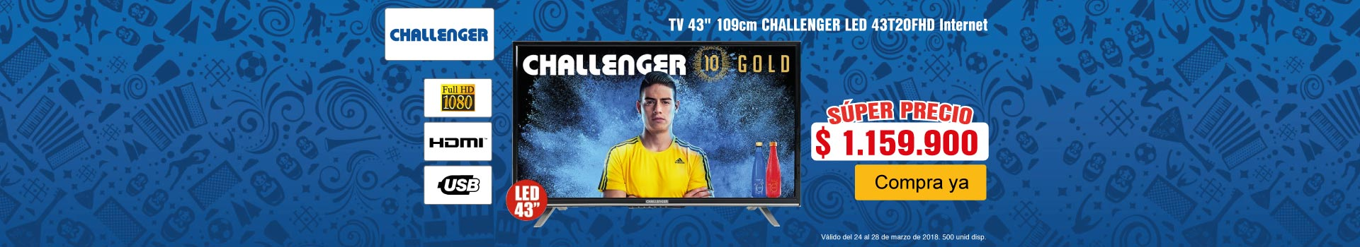 CAT 3 AK-tv-Challenger43T20-prod-Marzo 24-27