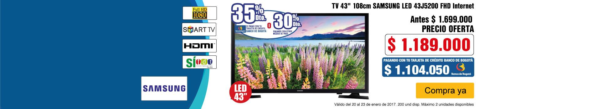 CAT AK-1-TELEVISOR SG 43J52-TV-ENERO20/23