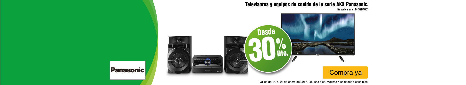 CAT AK-2-TELEVISOR PANASONIC-TV-ENERO20/23
