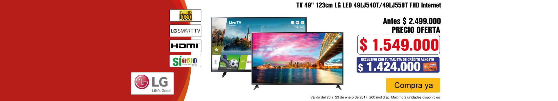CAT AK-3-TELEVISOR LG 49LJ5-TV-ENERO20/23