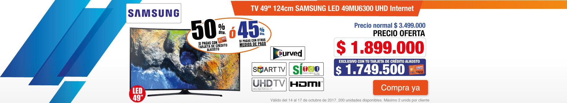 CATE AK-3-TELEVISOR SG 49MU63-TV-OCTU14-18