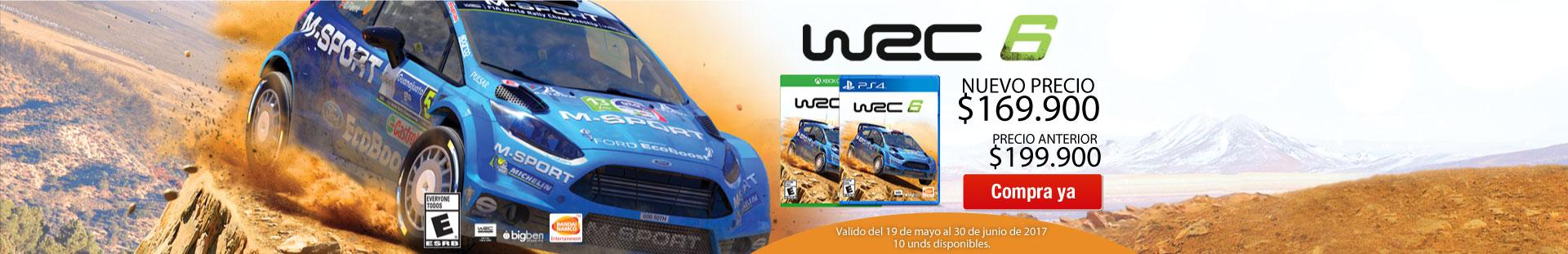 WRC 6 en descuentos
