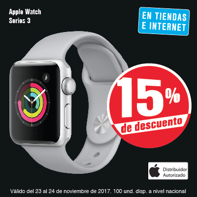 TCAT KT 6 accesorios - Apple Watch S3 - 23 Nov