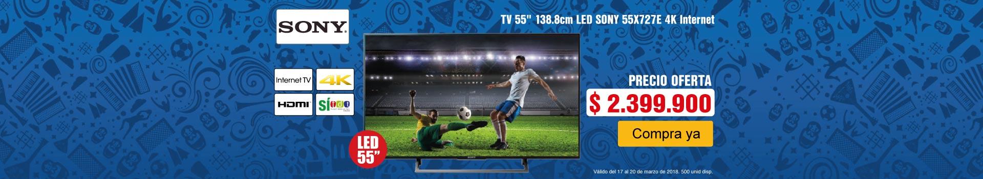 CAT -5-TV Sony55X727- Marzo 17-20